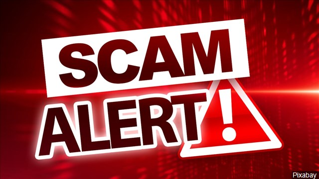 Authorities warn of scam alert