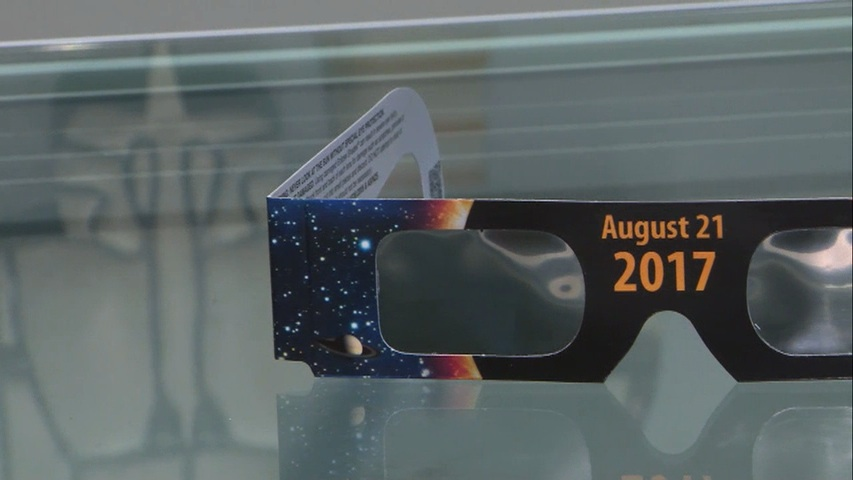 Solar eclipse glasses giveaway near me