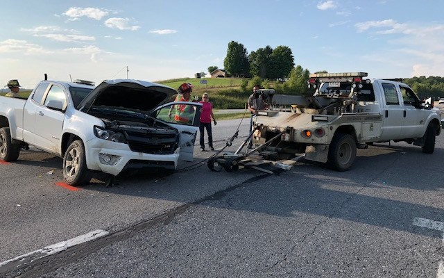 One Person In Critical Condition After Wreck On Route 19 In Fayette