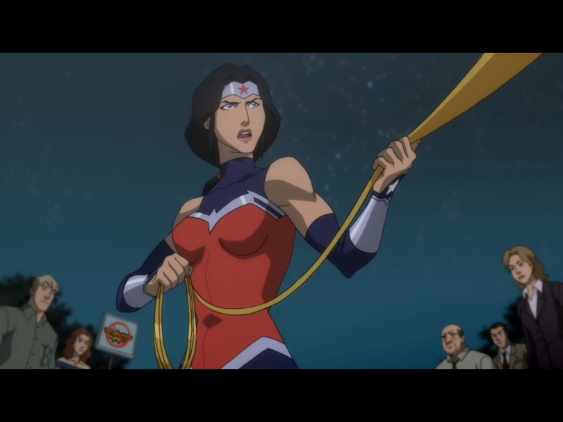Casting: Wonder Woman BLOODLINES - cover image WW in Throne of Atlantis