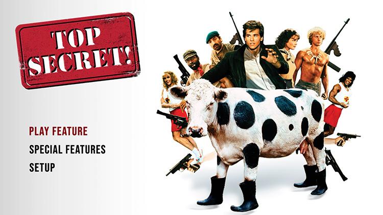 Top Secret! DVD Menu