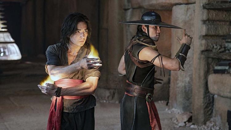 Liu Kang (Ludi Lin) and Kung Lao (Max Huang) Prepare for Kombat