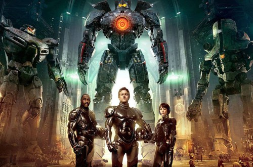 A Promotional Poster for Pacific Rim