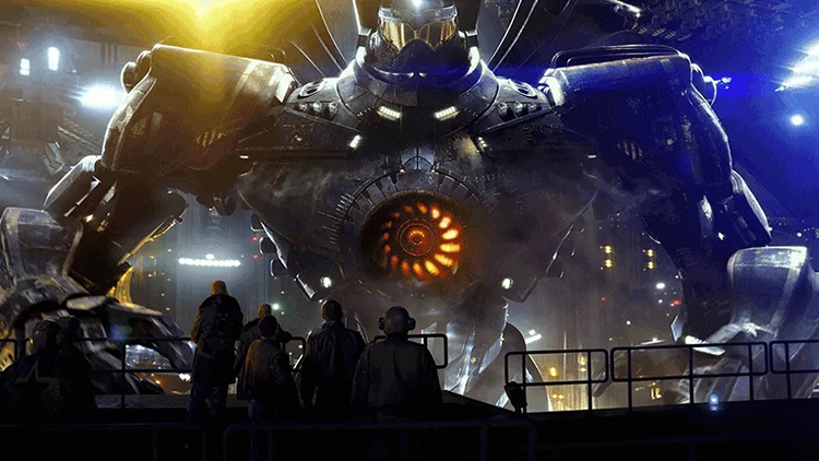 """The """"Gipsy Danger"""" Jaeger from Pacific Rim"""