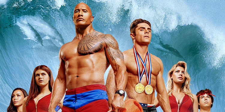 Poster for 2017's Baywatch