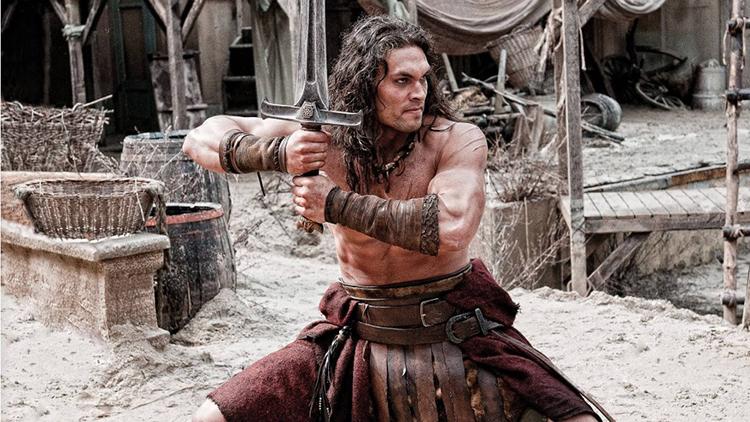 Jason Mamoa as Conan the Barbarian