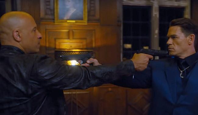 Dom, Vin Diesel, and Jakob, John Cena, Face off in F9: The Fast Saga