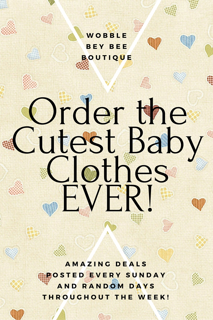 Order theCutest BabyClothes EVER