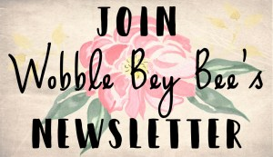 join wobble bey bees newsletter