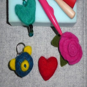 beginners needle felting