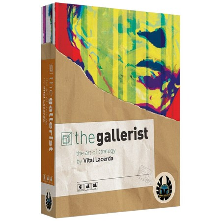 Cover: The Gallerist Kickstarter Edition + Scoring Expansion 畫廊經理人 |香港桌遊天地Welcome On Board Game Club Hong Kong|經濟類重策略遊戲1-4人