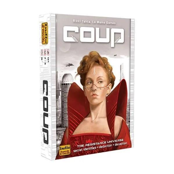 Cover: Coup 政變風雲: 城邦 |香港桌遊天地Welcome On Board Game Club Hong Kong|陣營推理鬥智多人派對聚會遊戲2-6人