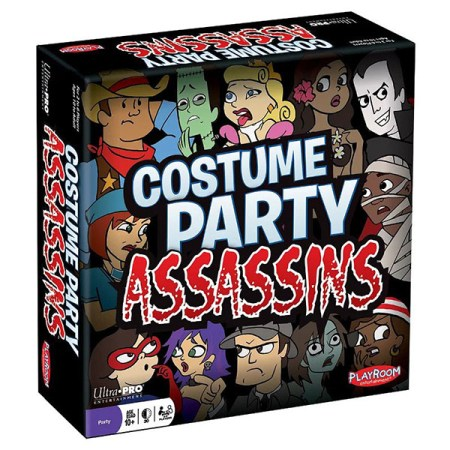 Cover: Costume Party Assassins 密弒派對 |香港桌遊天地Welcome On Board Hong Kong|殺手刺客推理估身份聚會遊戲
