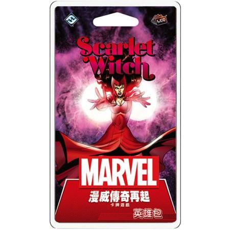 Marvel Champions: Scarlet Witch Hero Pack 漫威傳奇再起: 緋紅女巫英雄包|香港桌遊天地Welcome On Board Hong Kong|復仇者卡牌遊戲Avengers Card Game
