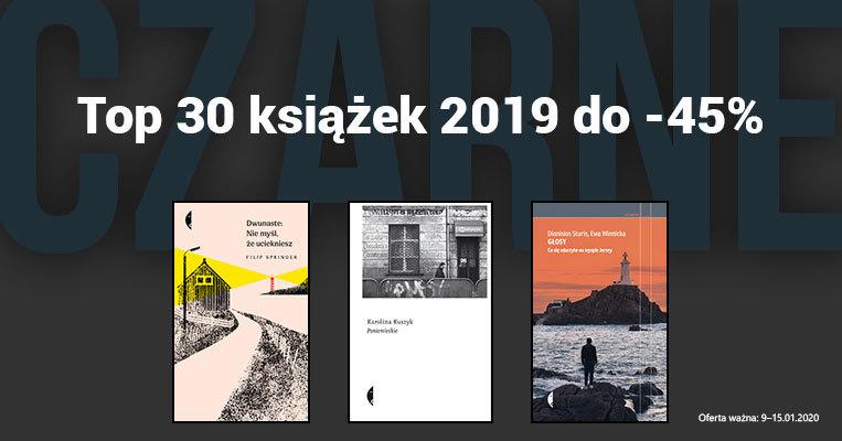 top 30 książek 2019 do -45%