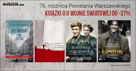 76. rocznica powstania warszawskiego książki o II wojnie światowej