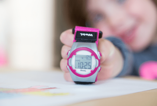 pink WobL watch