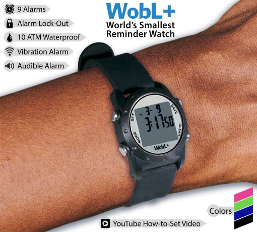 WobL+ Watch features are highlighted.