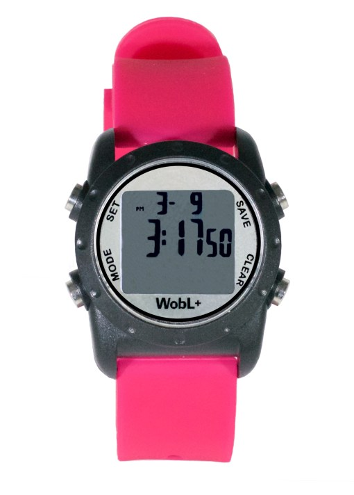 WobL+ watch, pink