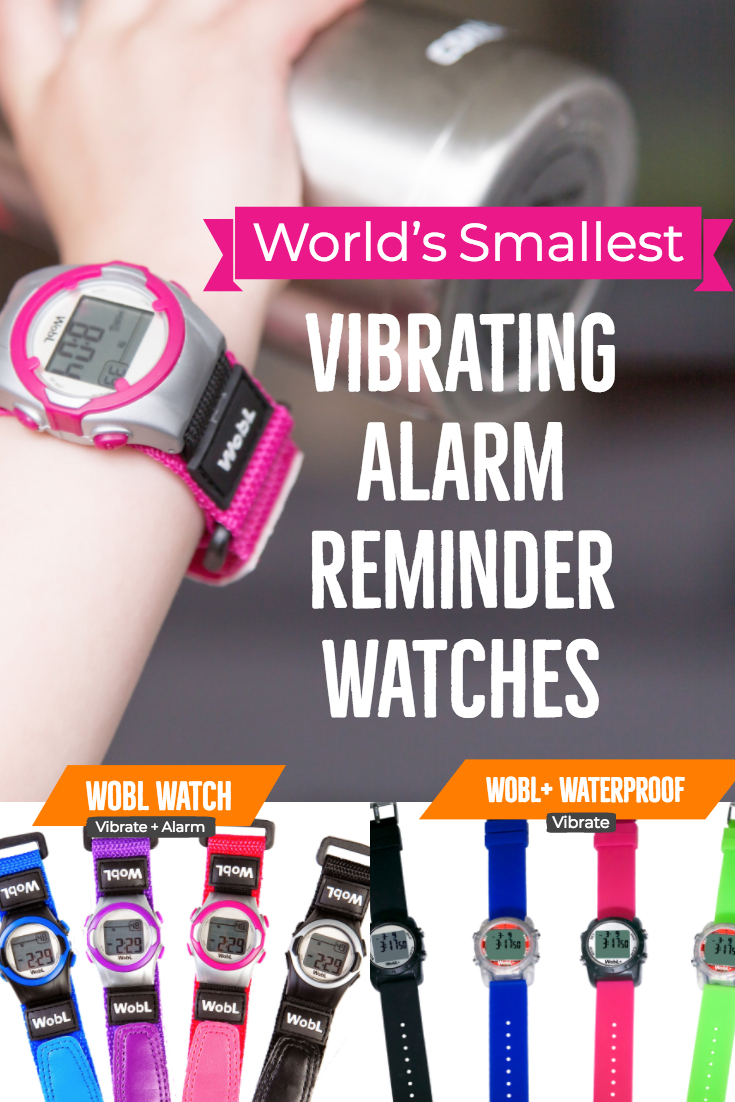 WobL Watch Main Image showing both styles and all 8 colors