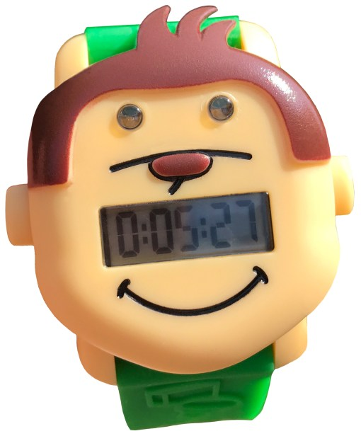 Potty Monkey Watch countdown timer for potty training