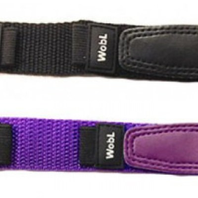 WobL replacement bands available in black and purple