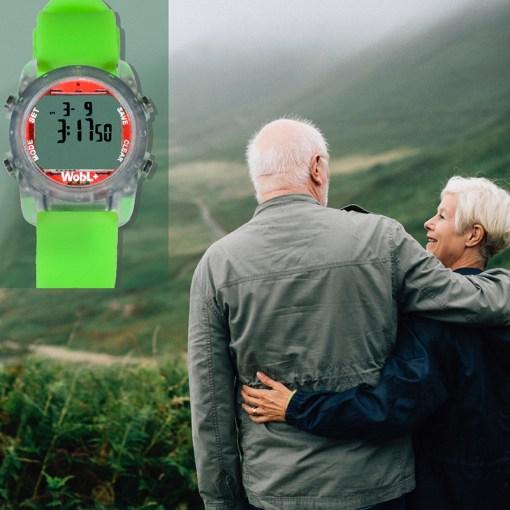 WobL+ green watch