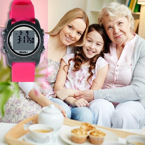 WobL+ pink watch