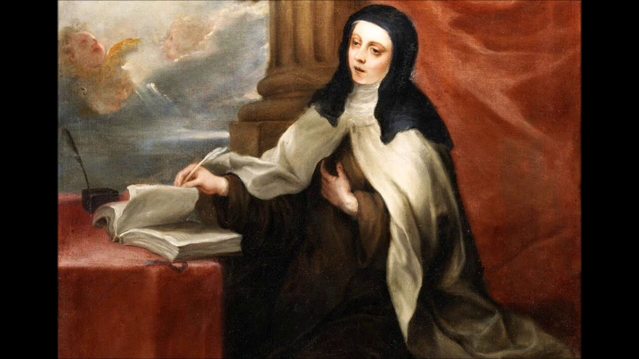 Św. Teresa Wielka, doktor Kościoła: Różnice między słowem Bożym a słowem ludzkim.
