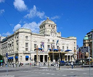The Royal Dramatic theater in Stockholm, Swede...