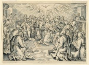 Acts of the_Apostles, after Stradanus, 17th century