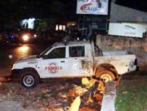Bombenexplosion in Horqueta hinterlässt vier Verletzte und wird EPP zugeschrieben