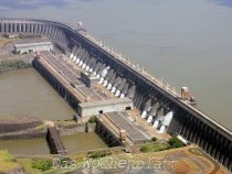 Erzeugte Energie durch Itaipú immer noch Nummer 1 der Welt
