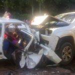 Schwerer Unfall mit drei Toten und sechs Verletzten