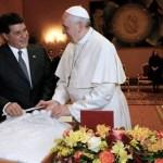 Papst versprach Präsident Cartes Paraguay zu besuchen