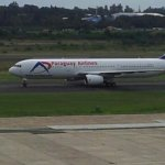 Erstes Paraguay Airlines Flugzeug landet heute
