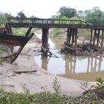 Brücke eingestürzt, Versprechungen, aber mehr passiert nicht