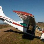 Flugzeug aus Paraguay mit Problemen