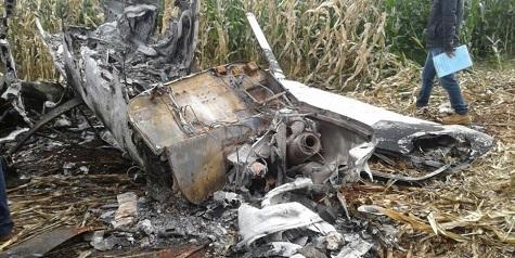 Drogenkuriere überleben Flugzeugabsturz