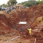 Erfassen der Bergbauarbeiten in Guairá