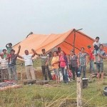 Landlose besetzen Grundstück weil kein Titel vorgezeigt werden kann