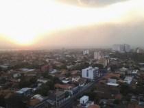 Kontamination der Luft in Paraguay