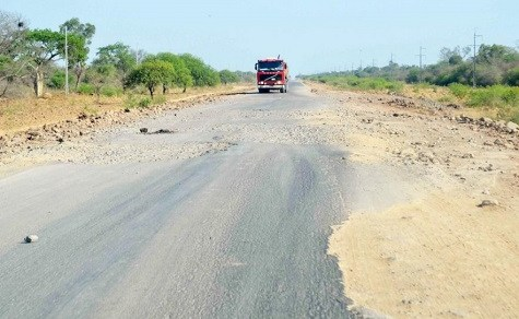 Katastrophale Bedingungen auf der Transchaco Route