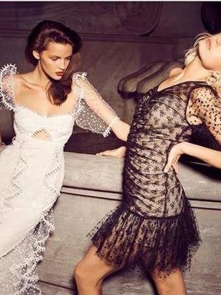 Foridol dot vintage bodycon dress women puff sleeve tulle dress v neck ruched ruffle black sheer dress vestidos summer