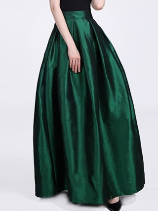 FOLOBE High Waist Party Dance Maxi Female Skirts New Style Womens Floor Length Hot Sale Ladies Long Summer Skirt
