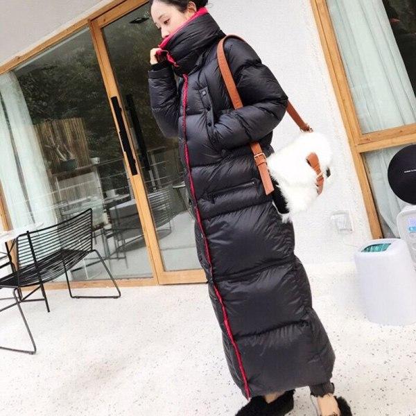 Winter Lengthy 90 %white duck down Coat Feminine Heat Parka