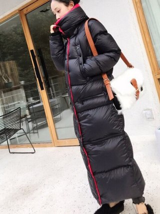 Winter Lengthy 90 %white duck down Coat Feminine Heat Parka