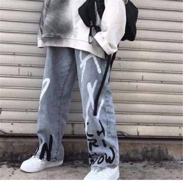 Jean Feminine Summer time Cotton Cargo Pants Streetwear Unfastened