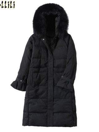 Boollili Women's Down Jacket Winter White Duck