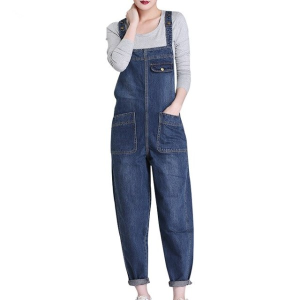 Spring Autumn Trend Model Plus Dimension L-6XL Denims Free